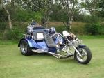 motor bike blue