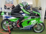 motor bike green